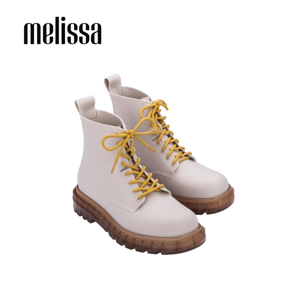 Melissa COTURNO綁帶造型帥氣短靴-杏