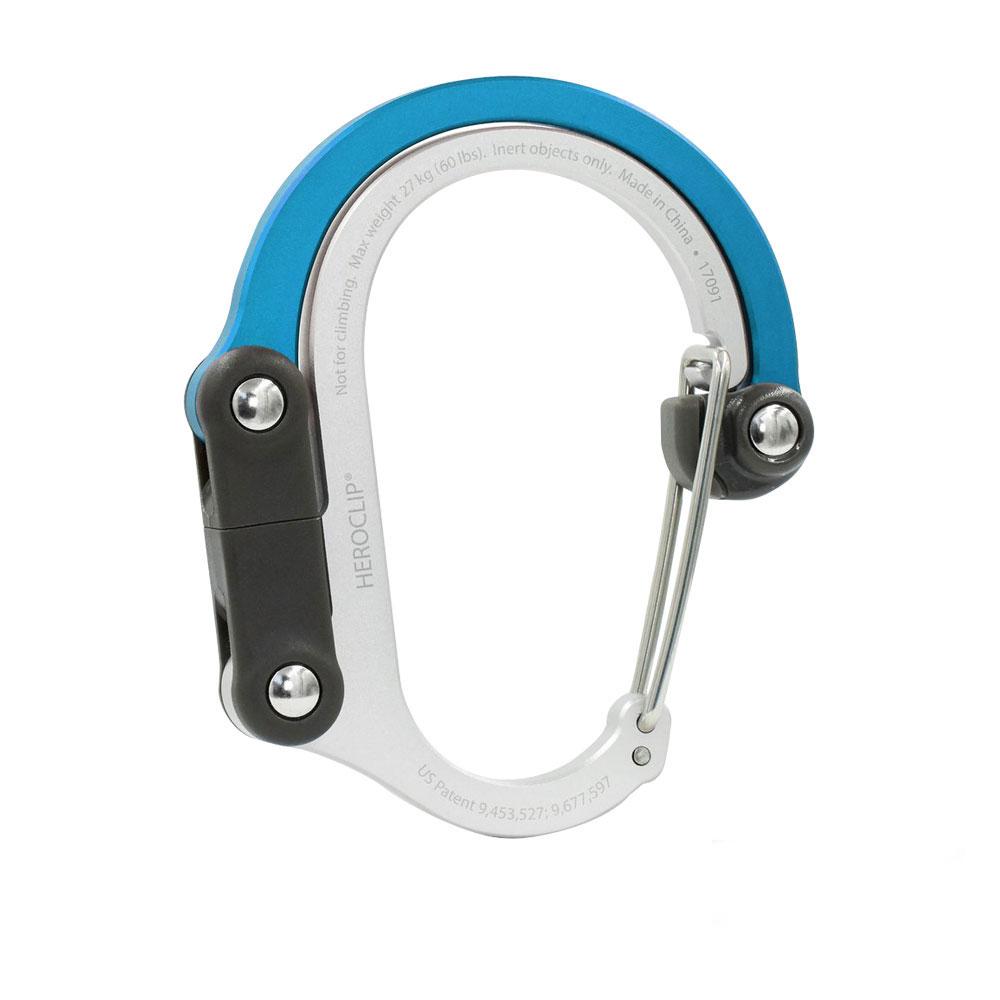美國Lulabop HEROCLIP多功能扣環掛勾(QLIPLETBL)-藍色
