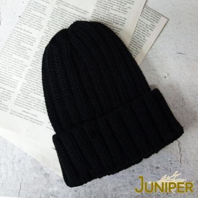 JUNIPER秋冬女款加厚針織毛線帽