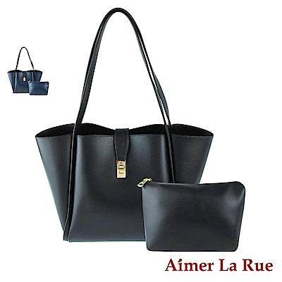 Aimer La Rue 克萊莉手提側背托特子母包(二色)