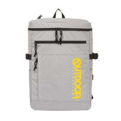 【OUTDOOR】風格前線-15.6吋筆電後背包-灰色 OD101110GY