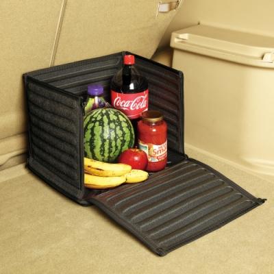3D Cube折疊置物箱 - 黑