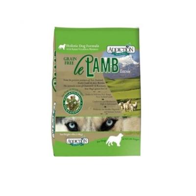 紐西蘭-ADDICTION自然癮食 野牧羊肉無穀犬寵食 4lbs(1.8kg)
