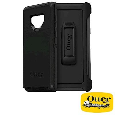 OtterBox Galaxy Note9防禦者系列保護殼-純黑