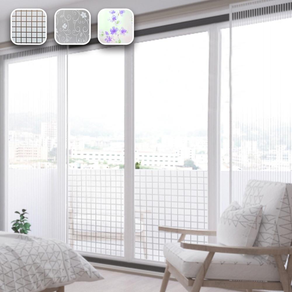 【Cap】抗UV無痕靜電玻璃門窗防曬貼