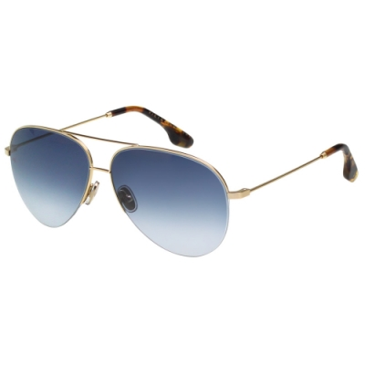 Victoria Beckham維多利亞貝克漢 太陽眼鏡 (淡金色)VB90S