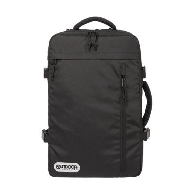 【OUTDOOR】悠遊寰旅-17吋筆電後背包-黑色 OD101132BK