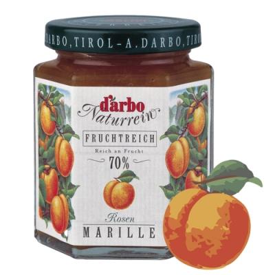 D'arbo德寶 70%果肉天然杏桃果醬 200g
