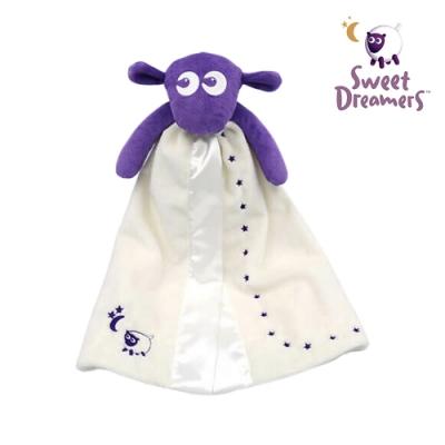 【英國Sweet Dreamers】甜夢綿羊安撫巾-紫
