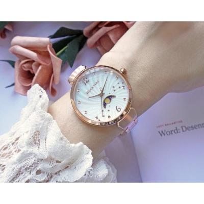 RELAX TIME 月亮女神系列珍珠貝手錶(RT-69-1)