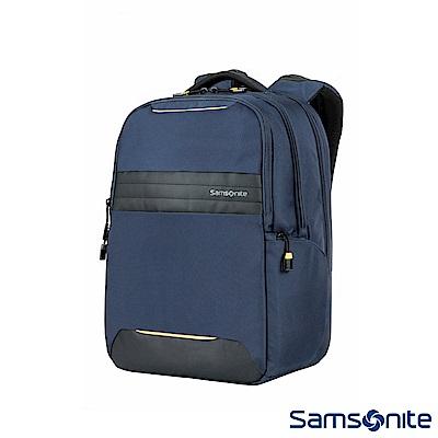 Samsonite新秀麗 Locus智慧型可調式夾層筆電後背包N2(藍)