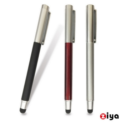 [ZIYA] 電容式觸控筆 金屬鋼筆造型 優雅紳士款 沉穩黑色
