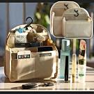 EZlife背包專用防水內膽收納包中包(贈烏木平安掛飾)