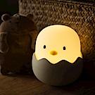 蛋殼雞情感矽膠小夜燈