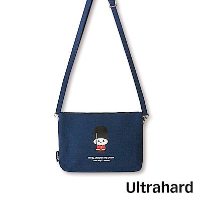 Ultrahard 月見兔斜背手機包-小騎兵(紅藍)
