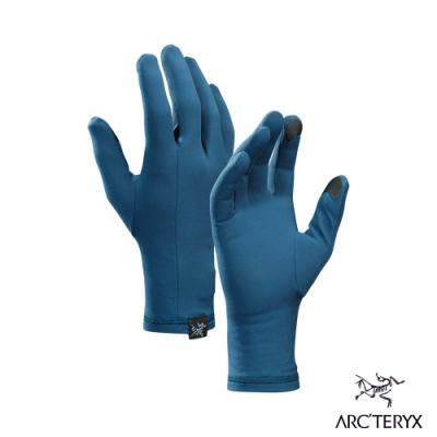 Arcteryx 始祖鳥 Rho 內層快排 保暖手套 赫卡特藍