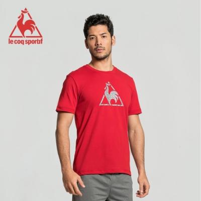 法國公雞牌短袖T恤 LWJ2310076-男-暗紅