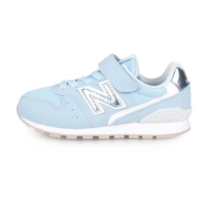 NEWBALANCE 中童復古慢跑鞋-WIDE 淺藍白