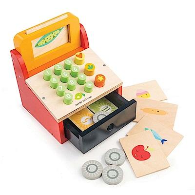 Tender Leaf Toys木製家家酒玩具-小老闆專業收銀機玩具組