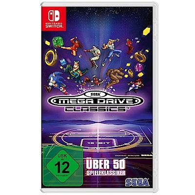 (預購)SEGA Mega Drive Classics-- NS  亞洲 英文版
