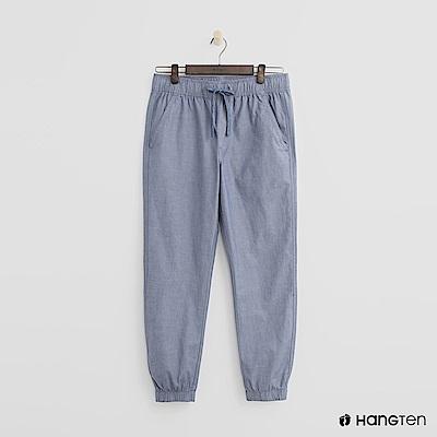Hang Ten - 男裝 - 休閒束口褲 - 藍