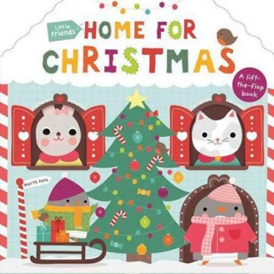 Home For Christmas 一起過聖誕節硬頁翻翻操作書(英國版)