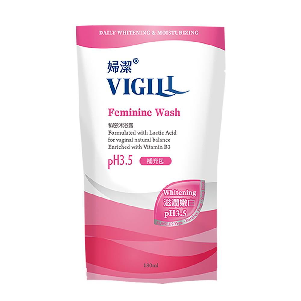 VIGILL 婦潔 滋潤嫩白 私密沐浴露(補充包/180ml/包)