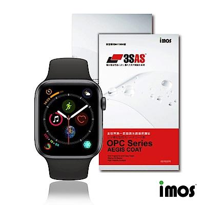 imos Apple Watch 44mm 第四代《非滿版》超抗疏水疏油效果保護貼-兩入