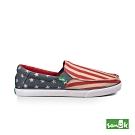 SANUK 男款US9 美國國旗休閒鞋(紅色)