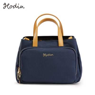 【Hodin】Daily野餐手提小包/肩背包/斜背包(藍色153029BR)
