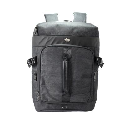 DRAKA 達卡 - 衝鋒者Charge系列-筆電後背包-提把黑