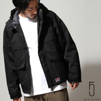 ZIP日本男裝 BEN DAVIS 工裝連帽登山外套 (3色)