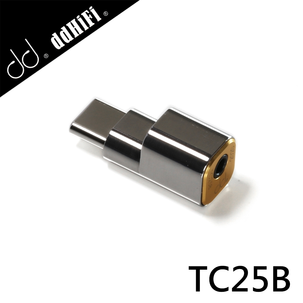 ddHiFi TC25B USB Type-C(公)轉2.5mm(母)解碼音效轉接頭 product image 1