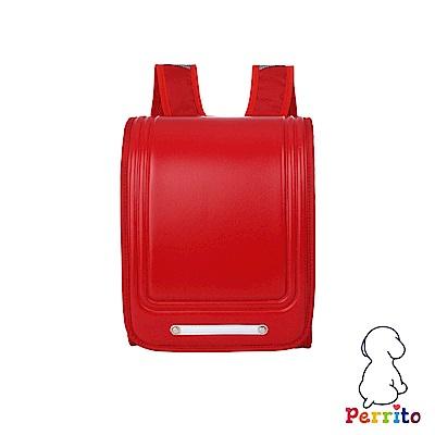 Perrito 貝瑞童「日本學園」核心護脊兒童書包-紅色