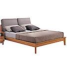 文創集 米德6尺亞麻布枕雙人加大床台(不含床墊)-192.5x221x105cm免組