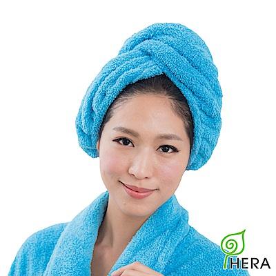 HERA 3M專利瞬吸快乾抗菌超柔纖浴帽-皇家藍