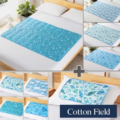 (1床+1枕) 棉花田 極致酷涼冷凝墊冰涼墊-多款可選