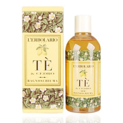 L ERBOLARIO 蕾莉歐 茶樹香柏沐浴乳250ml-贈品牌試用包(隨機出貨)
