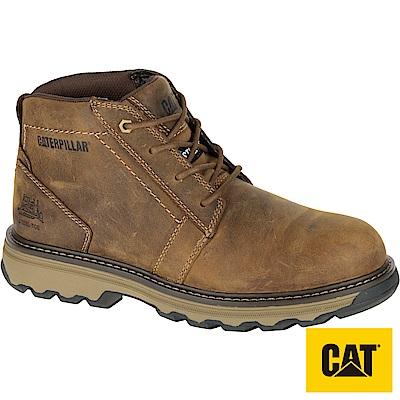 CAT PARKER S/D ST 輕量鋼頭鞋-咖啡(90715)