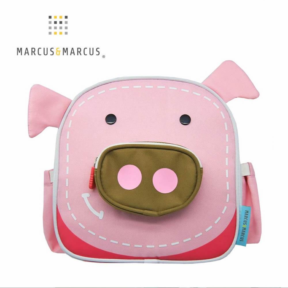 【MARCUS&MARCUS】動物樂園兒童保溫野餐背包-粉紅豬 @ Y!購物