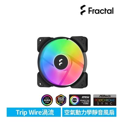 【Fractal Design】Aspect RGB 14cm 散熱風扇-黑