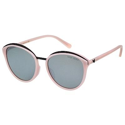 VEDI VERO 水銀面 太陽眼鏡 (粉配黑)VE801