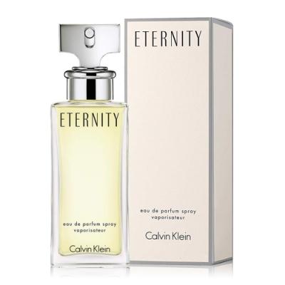 Calvin Klein CK Eternity 永恆女性淡香精100ml+隨機針管