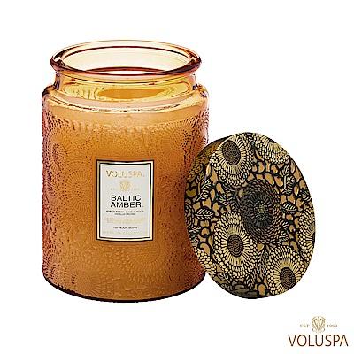 美國香氛VOLUSPA 日式庭園 Baltic Amber 波羅的海琥珀 453g