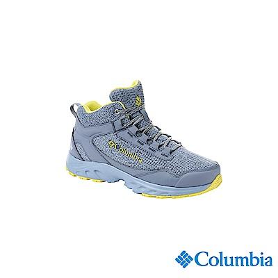 Columbia 哥倫比亞 女款-OD防水高筒休閒鞋-藍色UBL19070BL