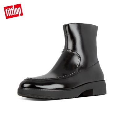 FitFlop KINBEY MICROSTUD ANKLE BOOTS 靚黑色