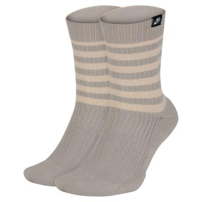 NIKE 襪子 運動 訓練 4雙入 灰粉 SX7289937 SNKR SOX CREW