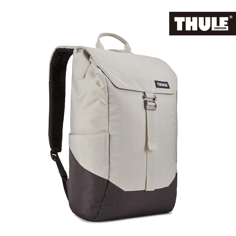 THULE-Lithos 16L筆電後背包TLBP-113-灰白