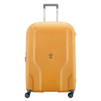 【DELSEY】CLAVEL-28吋旅行箱-黃色 00384582105