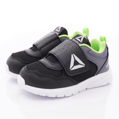 Reebok頂級童鞋 經典簡約學步鞋款 EI708黑(寶寶段)